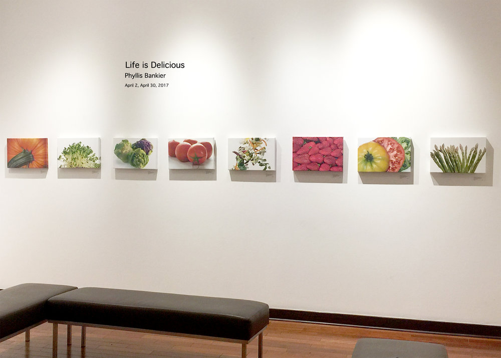 "G allery Exhibit: ""Life is Delicious"" Gallerie M"