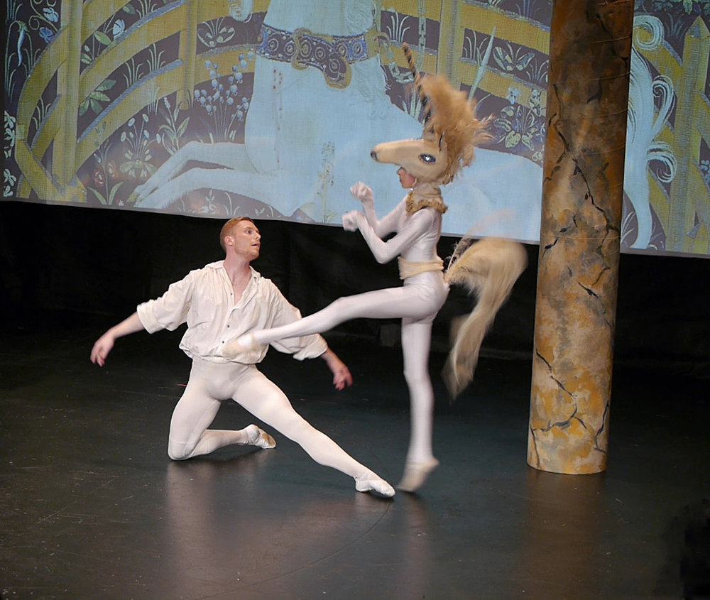 Bel Cantanti's 2016 The Unicorn, the Gordon, and the Manticore. Photo by Alex Souvorova and courtesy of Bel Cantanti Opera.
