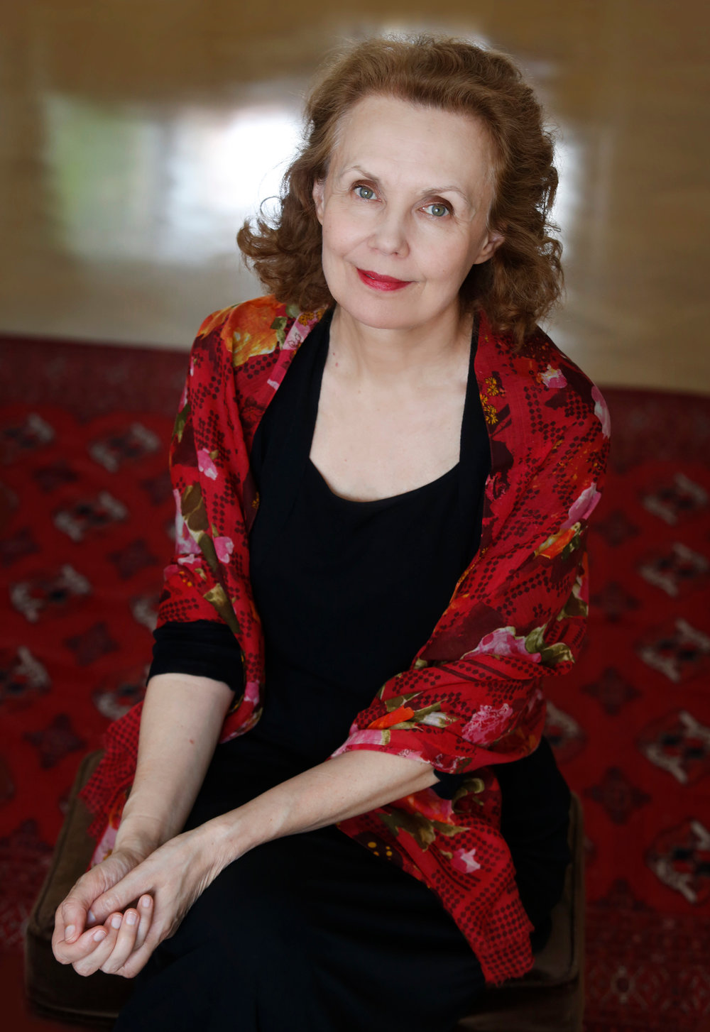 Composer Kaija Saariaho. Photo courtesy of Metropolitan Opera.