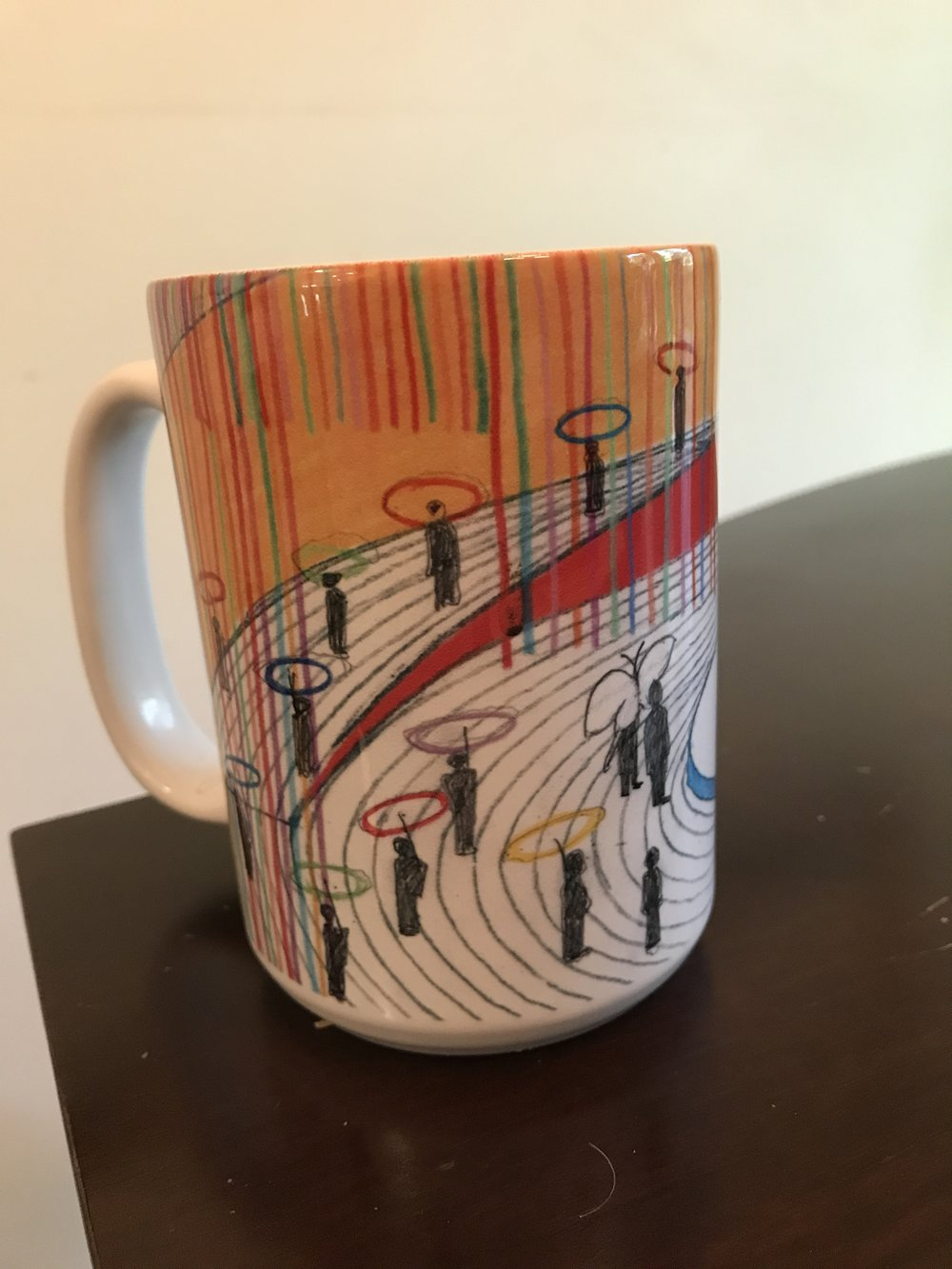 Coffee mug from the Kennedy Center gift shop. Photo by author.