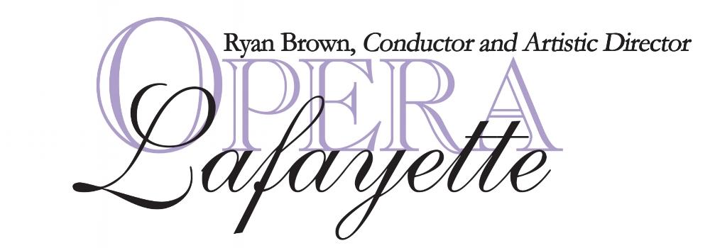 Logo for Opera Lafayette; courtesy of Opera Lafayette.