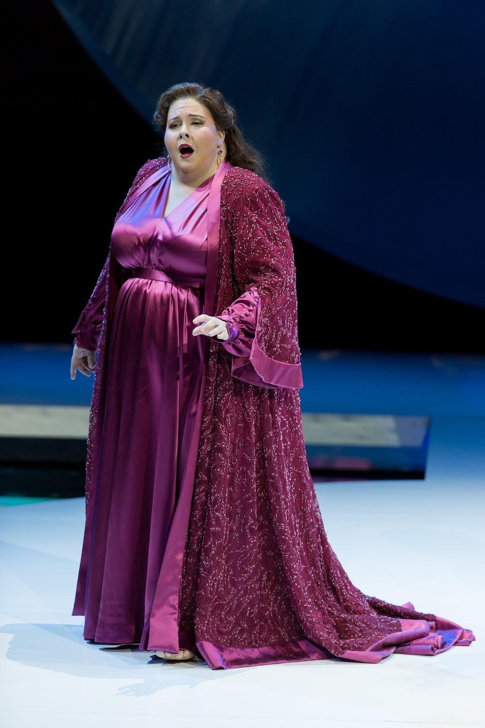 Angela Meade as Alcina. Photo by Scott Suchman; courtesy of Washington National Opera.