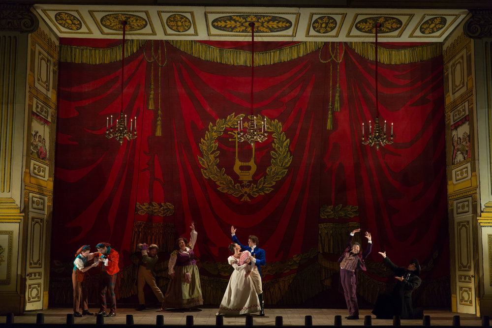 WNO's The Barber of Seville Gay Finale. Photo by Scott Suchman; courtesy of Washington National Opera.