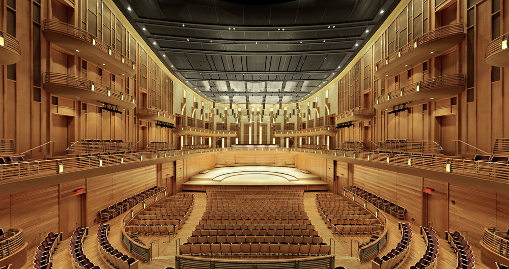 The Music Center at Strathmore; photo courtesy of Strathmore.