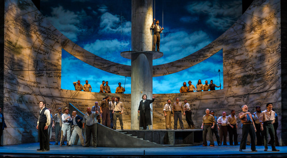 Moby Dick  , 2018: Photo by David Bachman Photography; courtesy of Pittsburgh Opera.