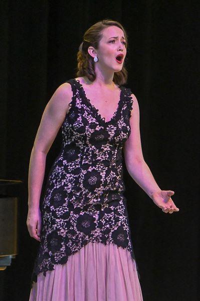 Third Prize winner, mezzo-soprano, Kelsey Roberston. Photo by Mike Halbig; courtesy of Annapolis Opera.