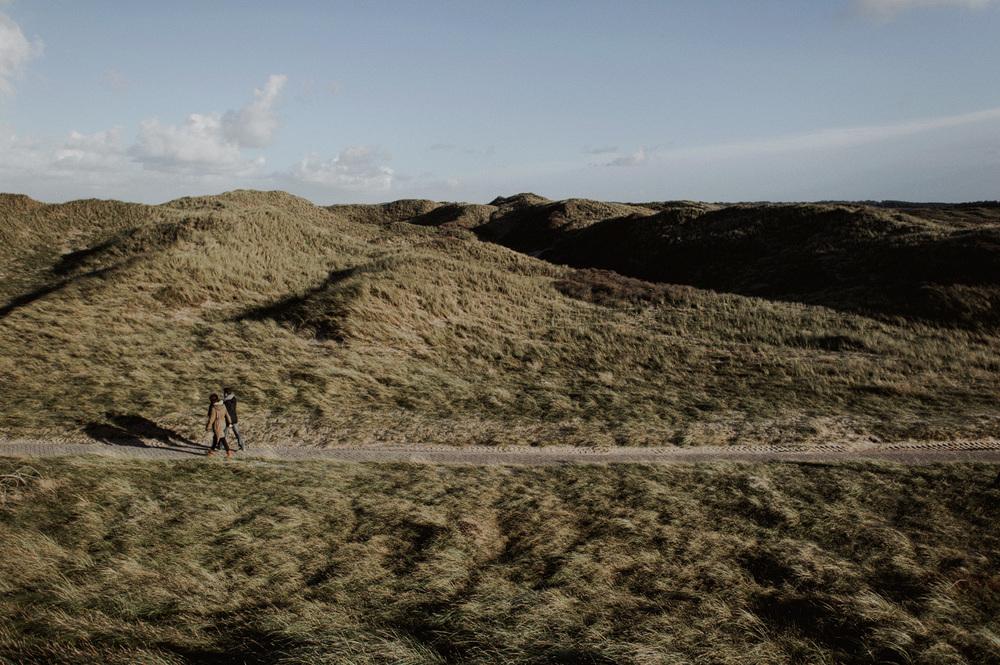 Dunes Bloemendaal Couple Walking