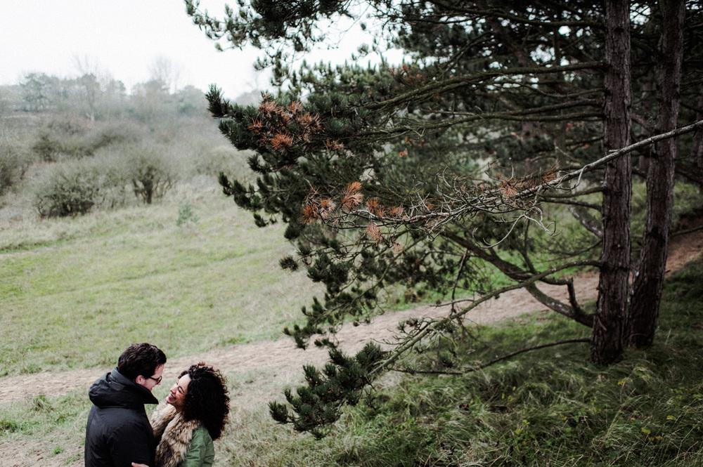 Couple Shoot Dunes Bloemendaal