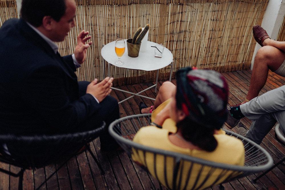 Drink on table at Aloha Bar Rotterdam