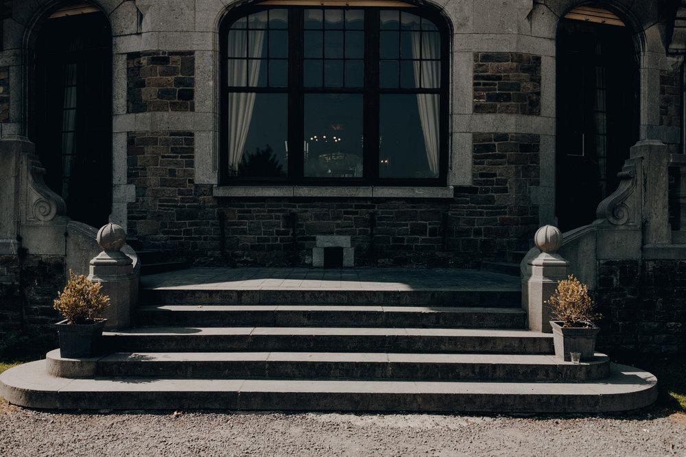 Stairs Chateau de Presseux