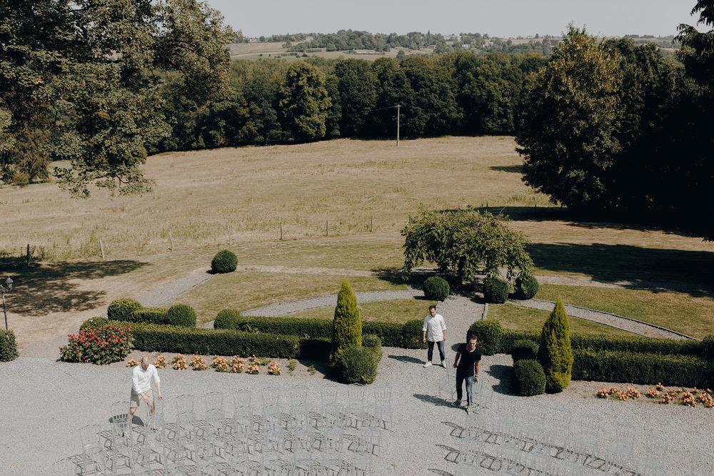 Chateau de Presseux view