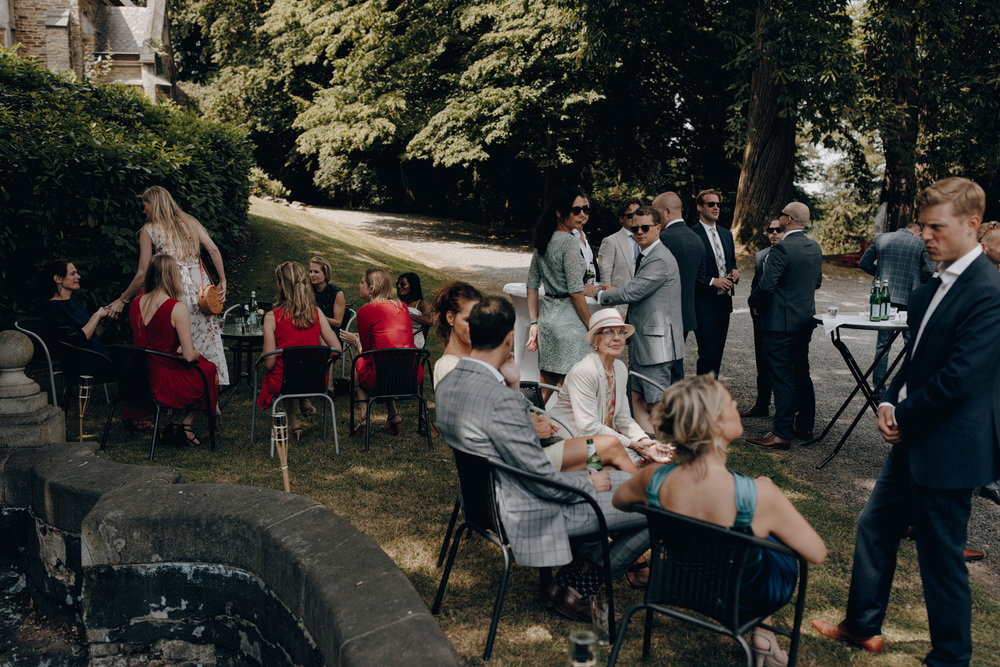 Wedding in Chateau de Presseux