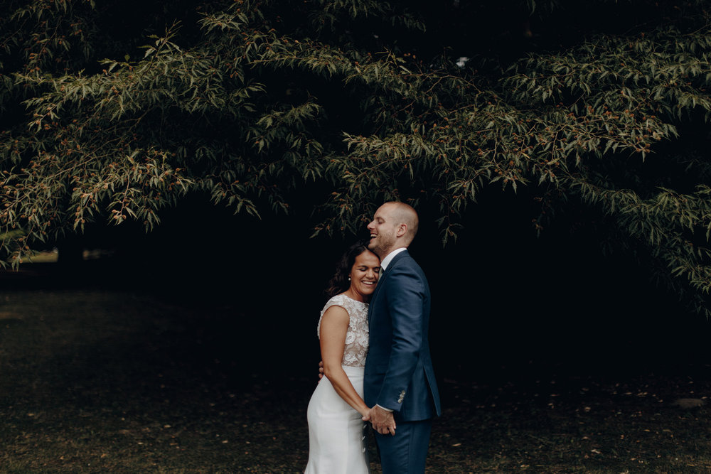 Love between Bride and Groom