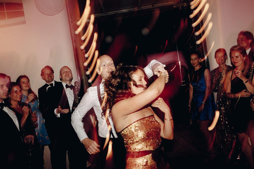 First dance at Chateau de Presseux