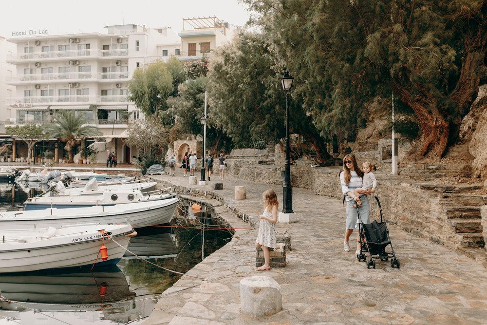 Harbor of Agios Nikolaos