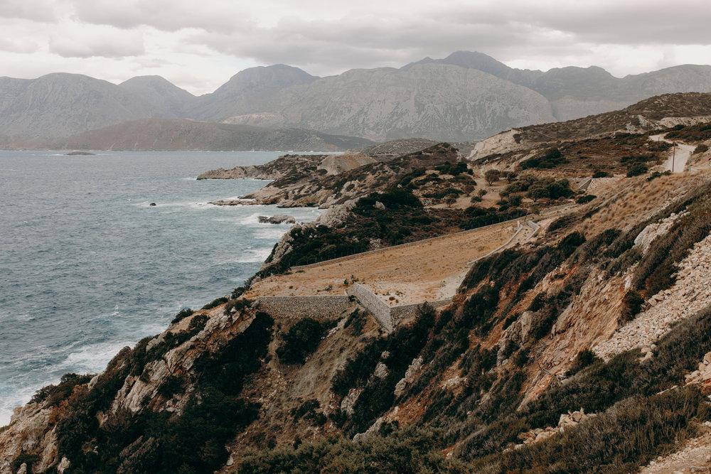 Landscapes in Crete, Greece