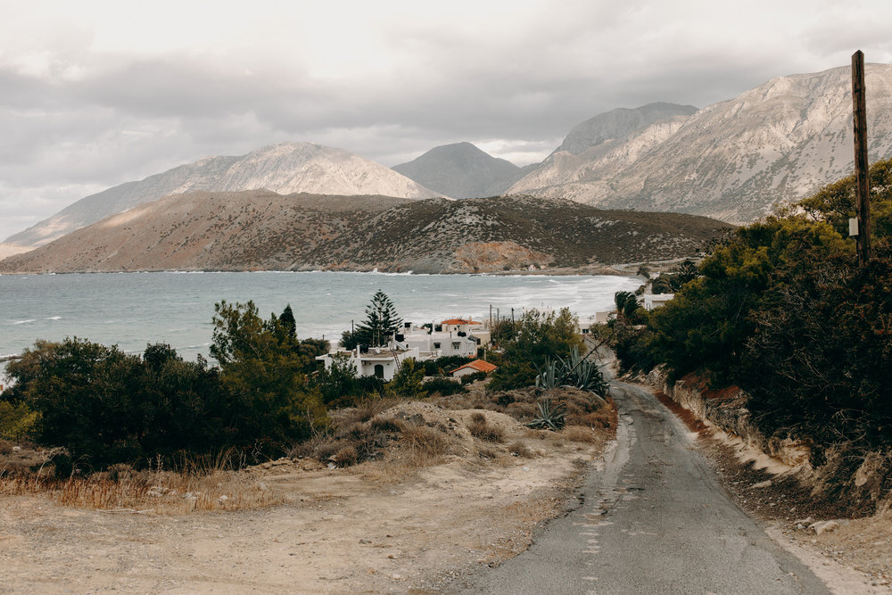 Beautiful views in Crete, Greece