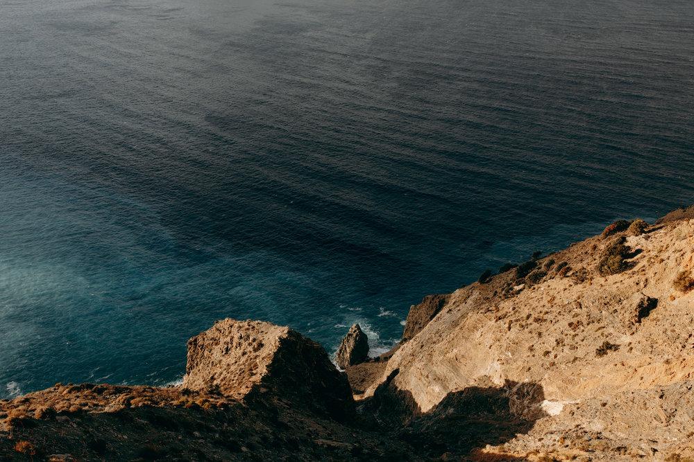 Coastline of Crete, Greece