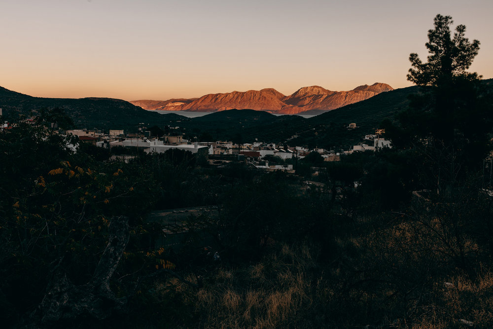 Sunset at Crete, Greece