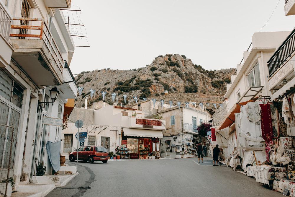 Little village in Crete, Greece