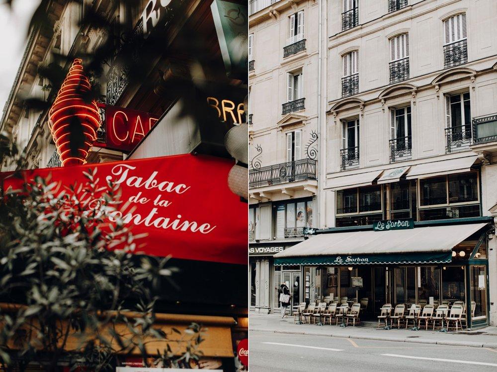 Cafes of Paris, France