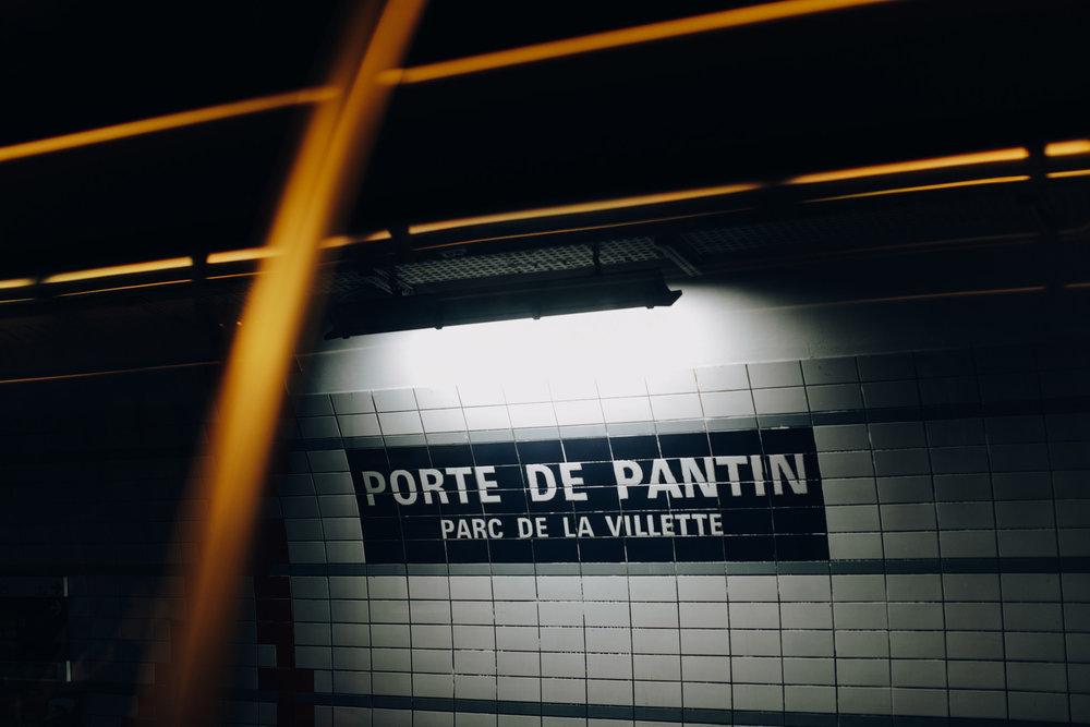 Metro of Paris, France