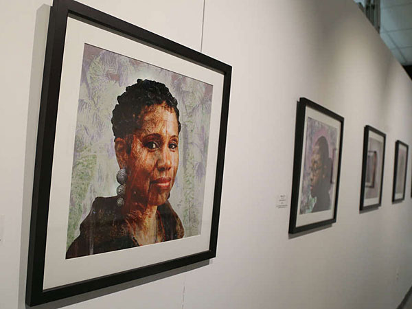 At the Arts Garage in Atlantic City are works by Glynnis Reed. (ANDREW THAYER / Staff Photographer, Philadelphia Inquirer)