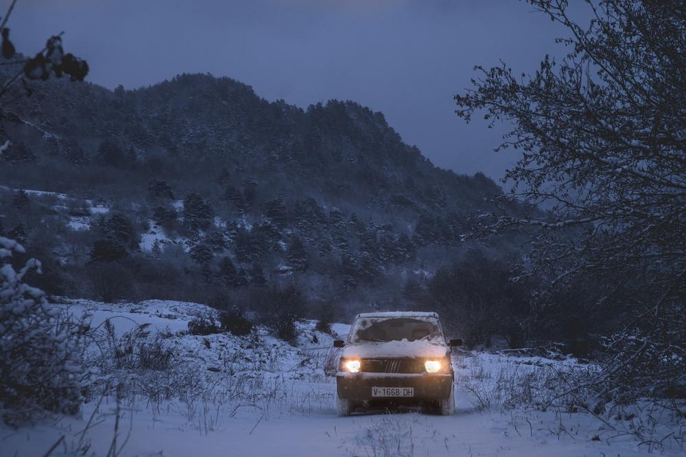 Nieve y noche