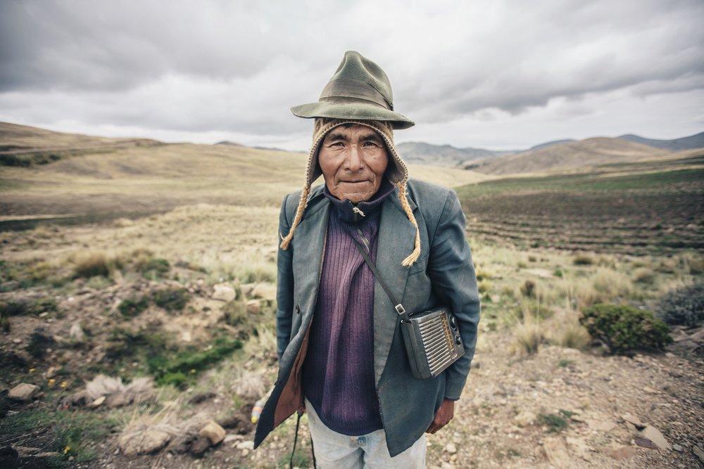 Marcelino Mamani. Bolivia 2013.