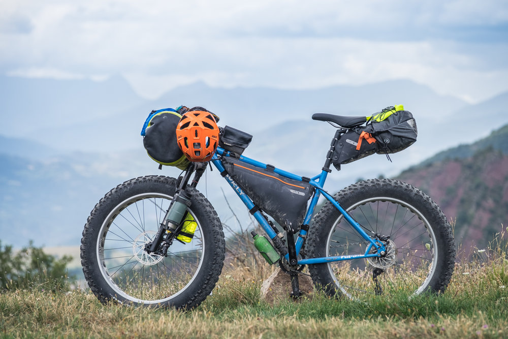 Ice Cream Truck + Ortlieb bikepacking