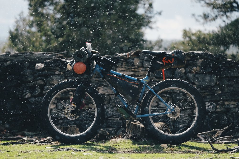 Bikepacking Surly Fatbike