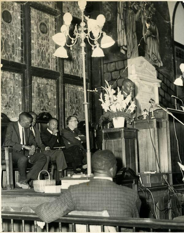 Dr. King at #EmanuelAME (Photo courtesy of the King Center)