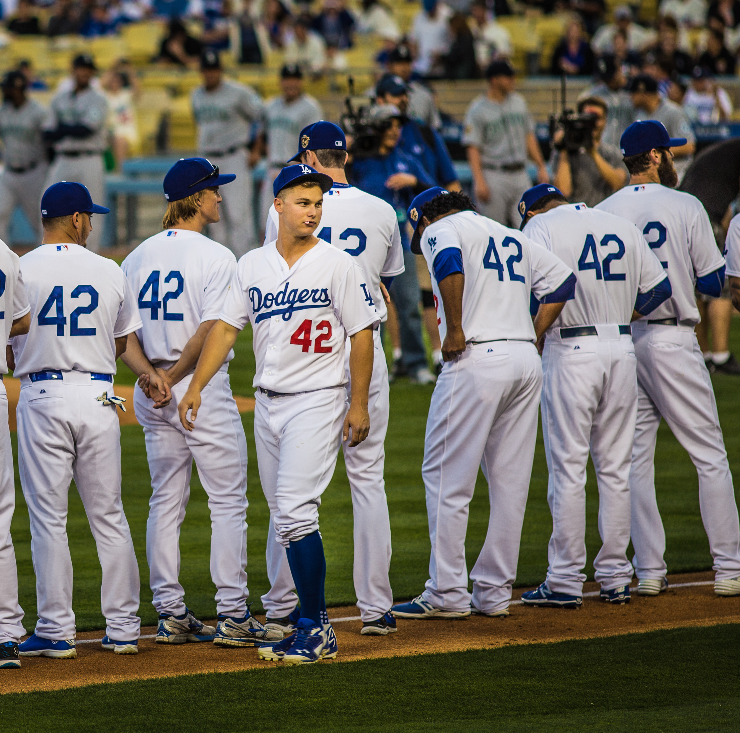Joc Pederson on Jackie Robinson night