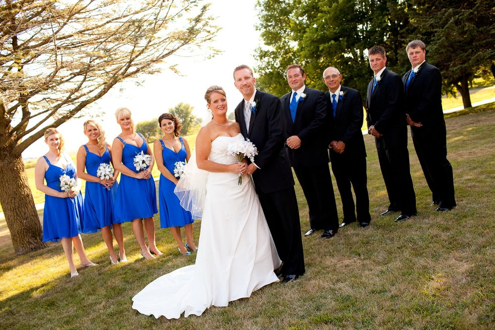 Promotion - Book your Wedding by August 3rd for 10% off any wedding package.