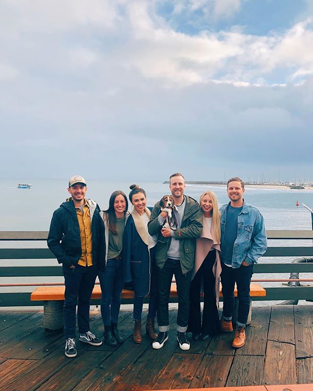 escaped to santa barbara for a great weekend (hello ocean, wine, and spanish neighborhood walks) with even better company. ✨