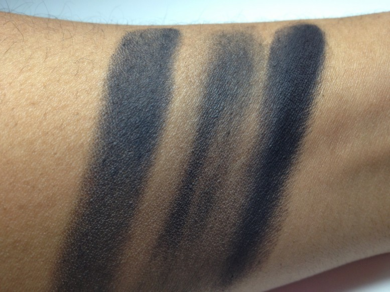 "Make Up For Ever #4, MAC ""Carbon"", and Urban Decay ""Crave"""