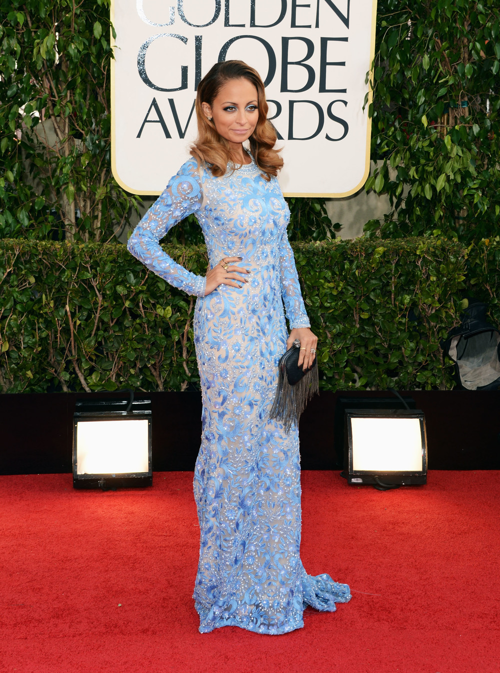 Nicole Richie at the 2013 Golden Globes Awards Red Carpet 2