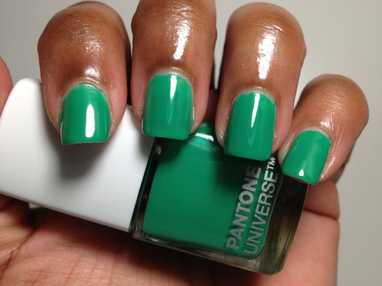 Sephora Pantone Universe Color Charged Graphic Lacquer Emerald Green 2013 (6)