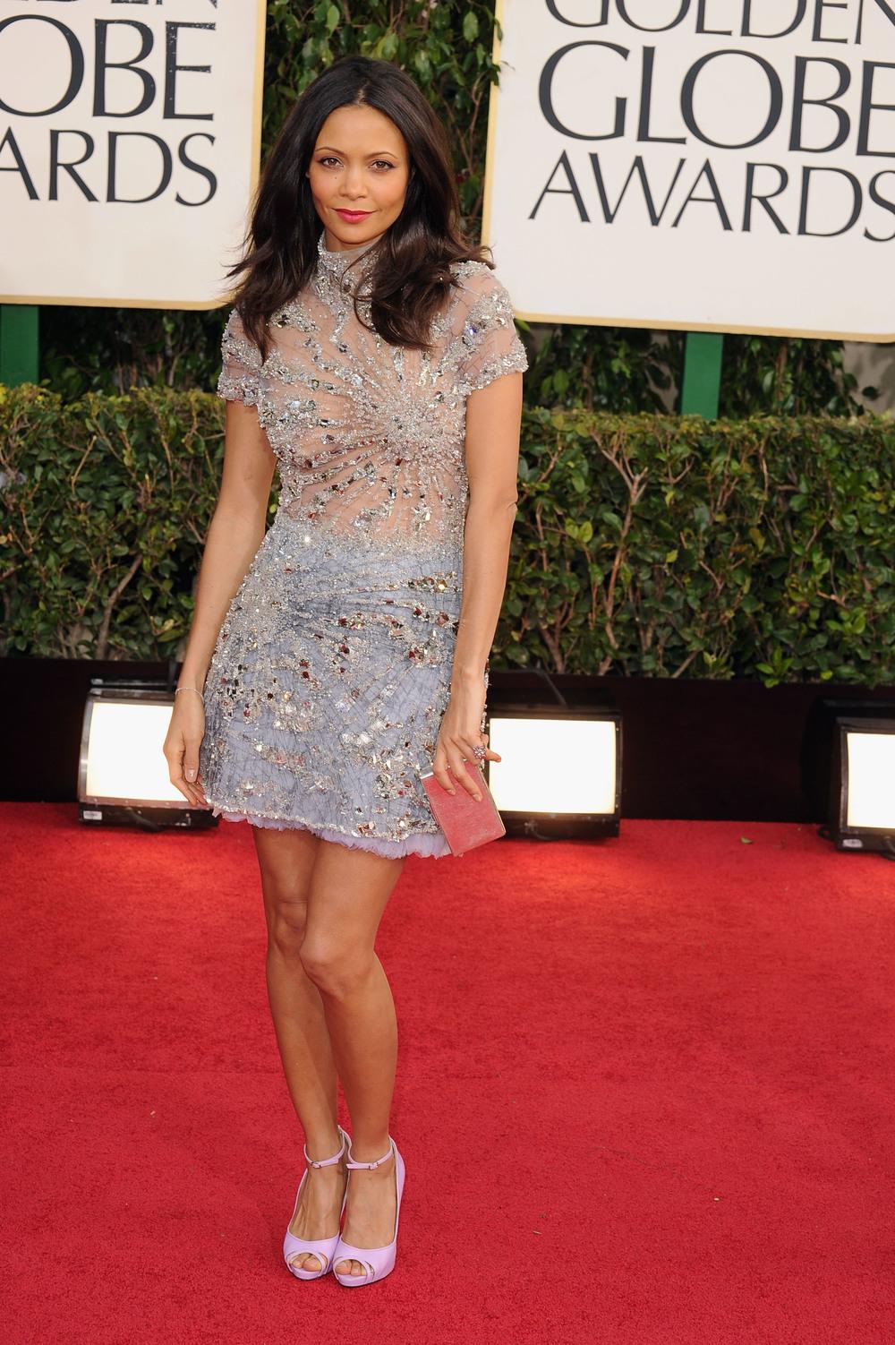 Thandie-Newton 2013 Golden Globes Awards Red Carpet