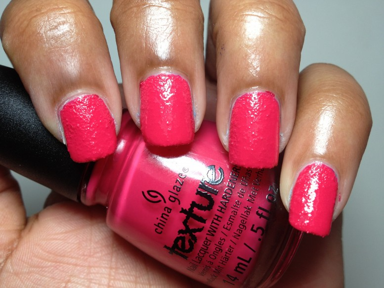 China Glaze Texture Bump and Grind Nail Polish