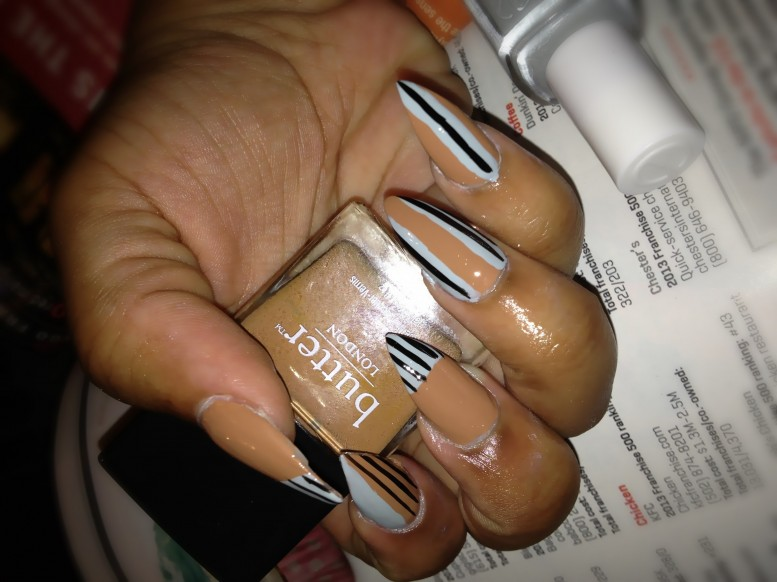 butter london tea toast and essie who is the boss