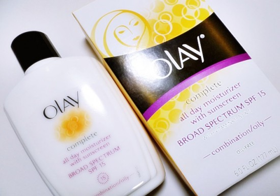 Olay's Complete All Day Moisturizer with Sunscreen for Combination/ Oily Skin