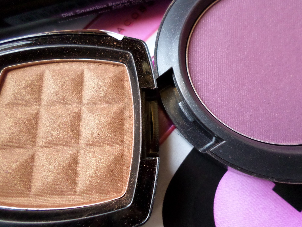 NYX Pecan Blush MAC Dirty Plum Blush
