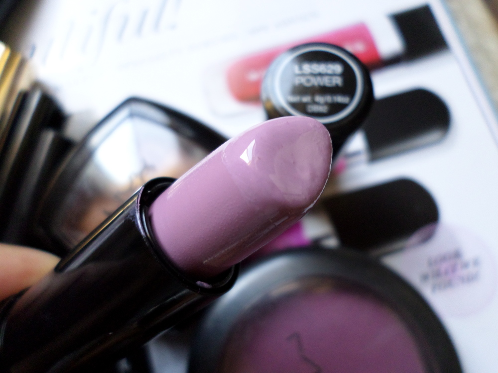 NYX Power Lipstick Lavender Pink