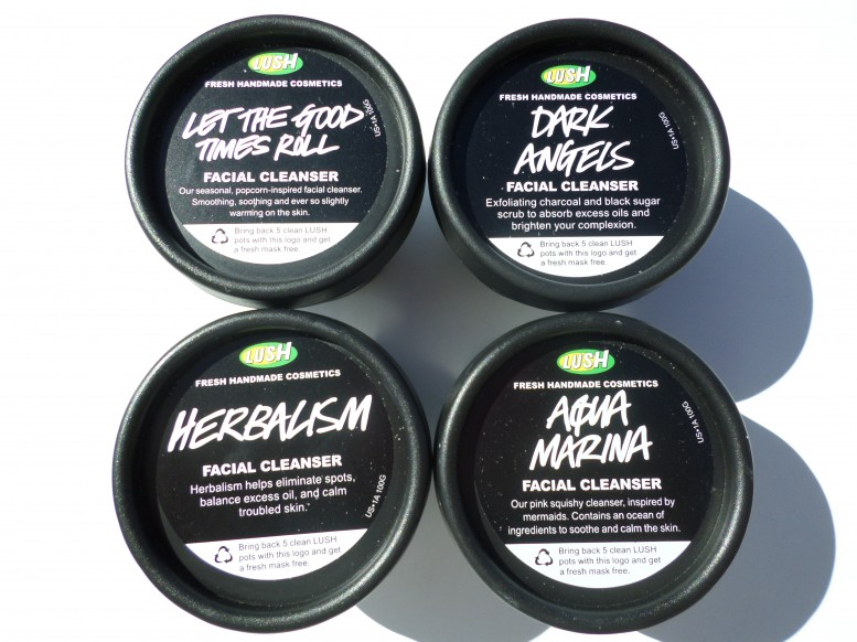 Lush Cosmetics Cleansers