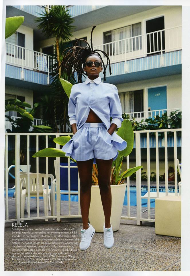 Kelela in Vogue April 2014