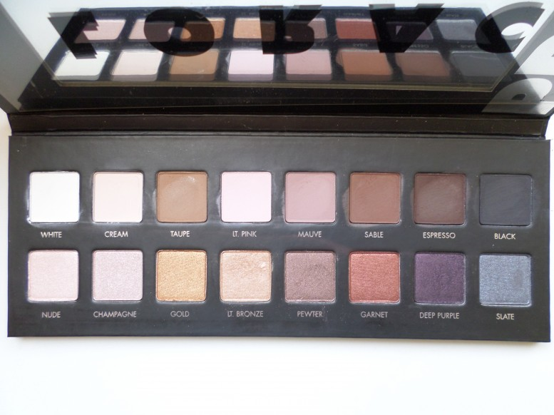 Lorac Pro Palette Swatches on brown skin
