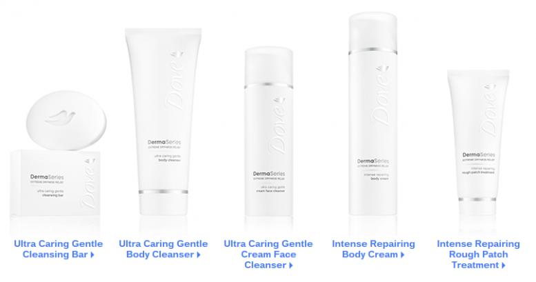 Dover DermaSeries for Dry Skin