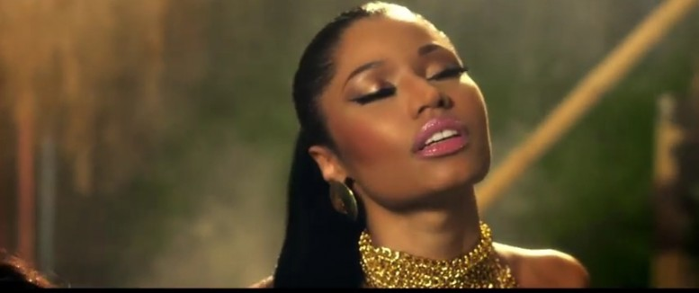 Nicki Minaj Anaconda video makeup