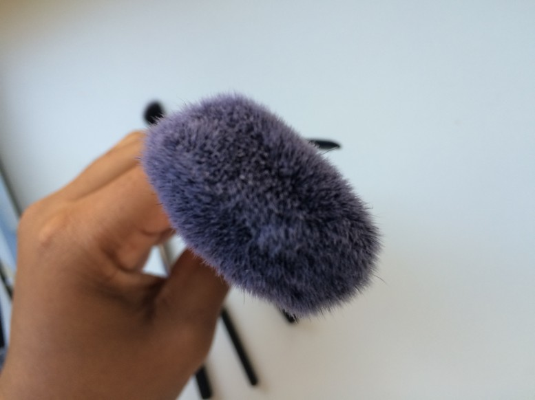 real techniques holiday set cheek brush (set exclusive)